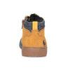 Žlutá dětská kotníčková obuv s prošitím bubblegummers, žlutá, 191-8603 - 15