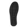 Dámská černá kožená kotníčková obuv comfit, černá, 594-6645 - 18