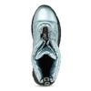 Dámské modré metalické sněhule se zipem bata, modrá, 591-9650 - 17