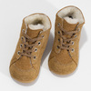 Dětská kožená zimní obuv se zateplením richter, hnědá, 123-8613 - 16
