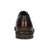 Tmavě hnědé pánské kožené polobotky bugatti, hnědá, 824-4481 - 15