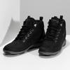 Kotníčková pánská kožená obuv v Outdoor stylu geox, černá, 846-6368 - 16