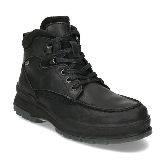 Pánská černá kožená zimní obuv bata, černá, 896-6753 - 13