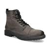 Kožená pánská kotníčková obuv bata, hnědá, 896-4752 - 13
