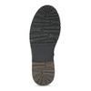 Pánská černá kožená zimní obuv bata, černá, 896-6746 - 18