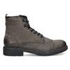 Kožená pánská kotníčková obuv bata, hnědá, 896-4752 - 19
