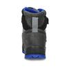 Šedá dětská zimní obuv s modrými detaily primigi, šedá, 293-2606 - 15