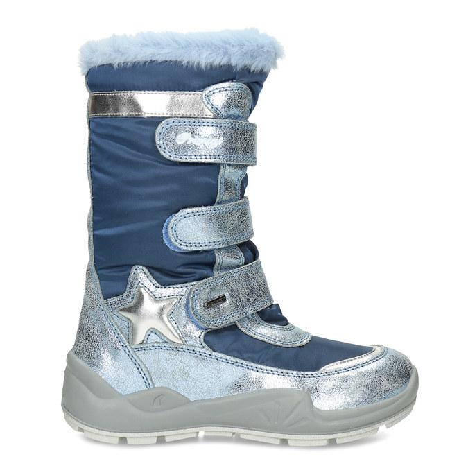 Modré dětské sněhule s metalickými detaily primigi, modrá, 499-9618 - 19
