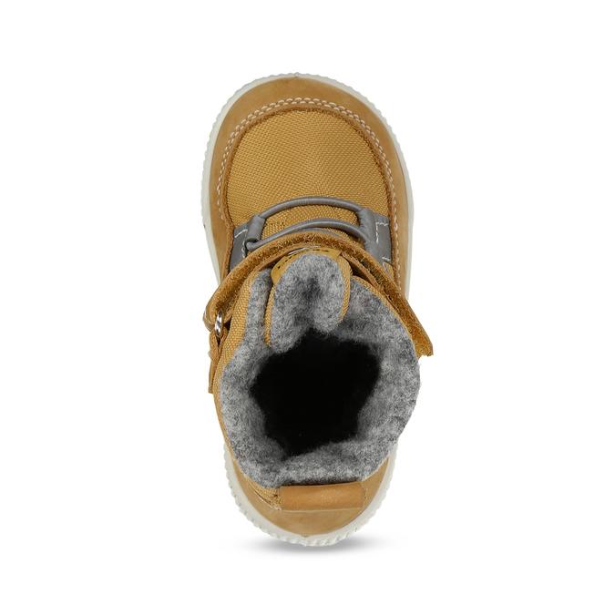 Žlutá dětská kotníčková zimní obuv primigi, žlutá, 199-8615 - 17