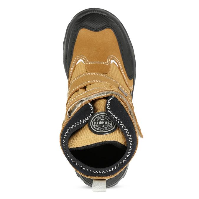 Žlutá dětské zimní obuv na suché zipy primigi, žlutá, 499-8617 - 17