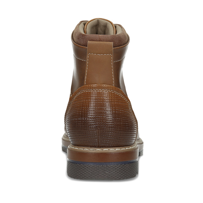 Pánská hnědá kotníčková zimní obuv bata-red-label, hnědá, 891-3610 - 15