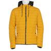 Žlutá pánská bunda s černou kapucí bata, žlutá, 979-8317 - 13