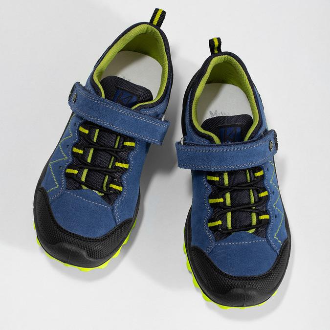 Tenisky v outdoorovém stylu mini-b, modrá, 413-9648 - 16