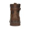 Kožená pánská kotníčková obuv se zateplením bata, hnědá, 896-4600 - 15