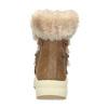Hnědé dámské zimní sněhule s kožíškem weinbrenner, hnědá, 599-3633 - 15