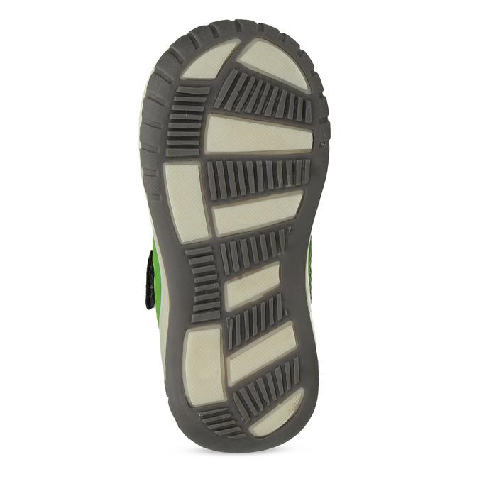 Šedá dětská kotníčková obuv bubblegummers, šedá, 111-2634 - 18