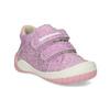 Dětská fialová kotníčková obuv bubblegummers, fialová, 121-5625 - 13