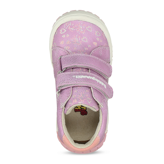 Dětská fialová kotníčková obuv bubblegummers, fialová, 121-5625 - 17
