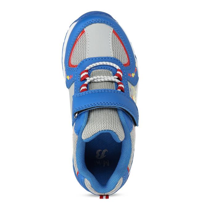 Modré dětské tenisky s potiskem mini-b, modrá, 211-9635 - 17