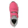 Dětské růžové tenisky na suché zipy mini-b, růžová, 421-5617 - 17