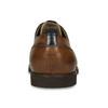 Kožené pánské hnědé Derby polobotky bata, hnědá, 826-3664 - 15