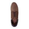 Pánské hnědé tenisky městského stylu s detaily bata-red-label, hnědá, 841-3844 - 17