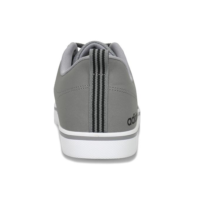 Pánské šedé tenisky městského stylu s černými detaily adidas, šedá, 801-2393 - 15