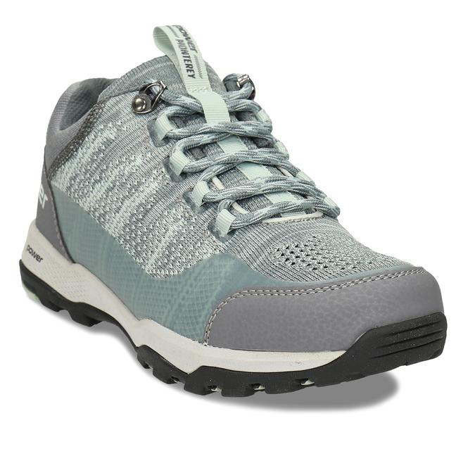 Dámské šedé tenisky s mint detaily v outdoor stylu power, šedá, 509-2566 - 13