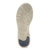 Dámské hnědé kožené tenisky s perforací weinbrenner, béžová, 546-4601 - 18