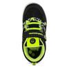 Černé dětské tenisky s neonovými detaily bubble-breathe, černá, 311-6607 - 17