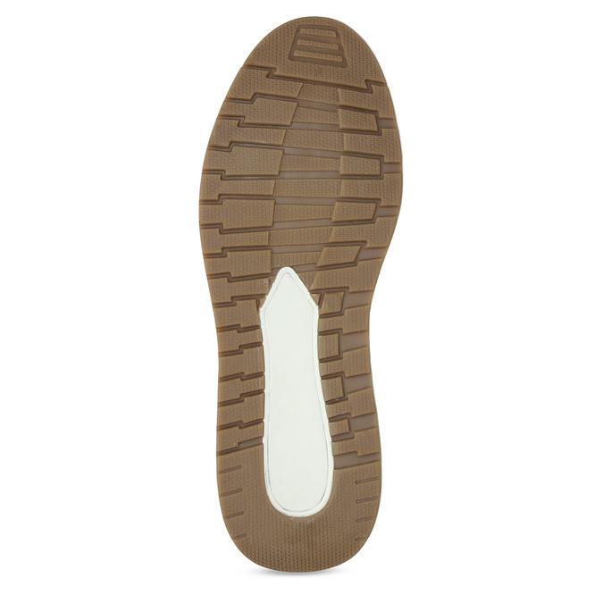 Pánské hnědé ležérní tenisky kožené bata, hnědá, 846-3602 - 18