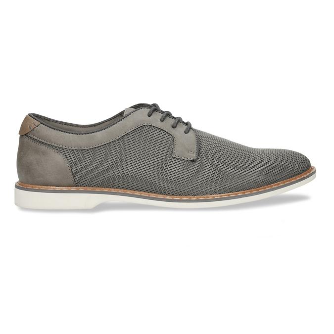 Pánská šedá vycházková obuv bata-red-label, šedá, 829-2606 - 19