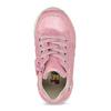 Růžové dětské tenisky se zipem bubblegummers, růžová, 121-5627 - 17