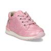 Růžové dětské tenisky se zipem bubblegummers, růžová, 121-5627 - 13