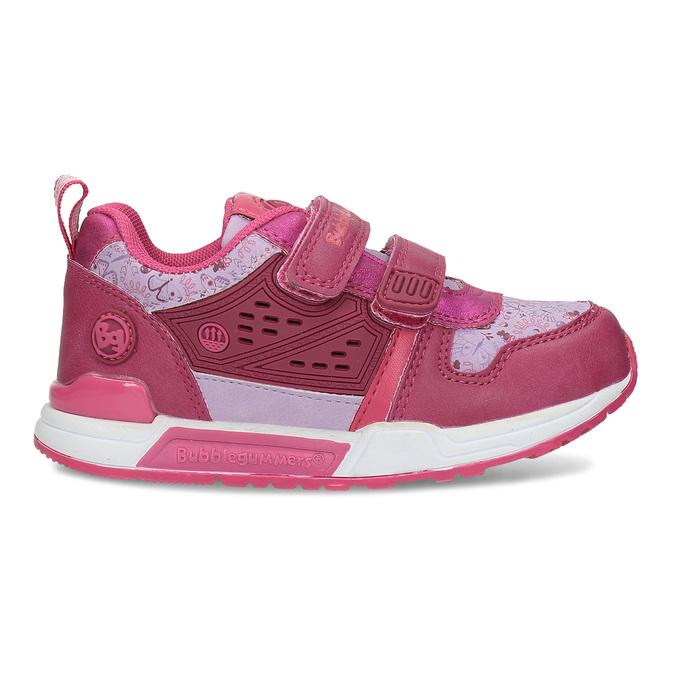 Dívčí tenisky na suchý zip růžové bubble-breathe, růžová, 221-5621 - 19