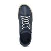 Dámská modrá vycházková obuv bata, modrá, 524-9603 - 17