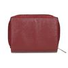 Červená dámská kožená peněženka bata, červená, 944-5634 - 16