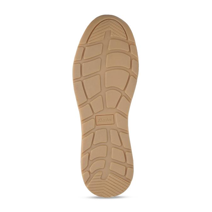 Dámské béžové tenisky se zipem bata, béžová, 541-8613 - 18
