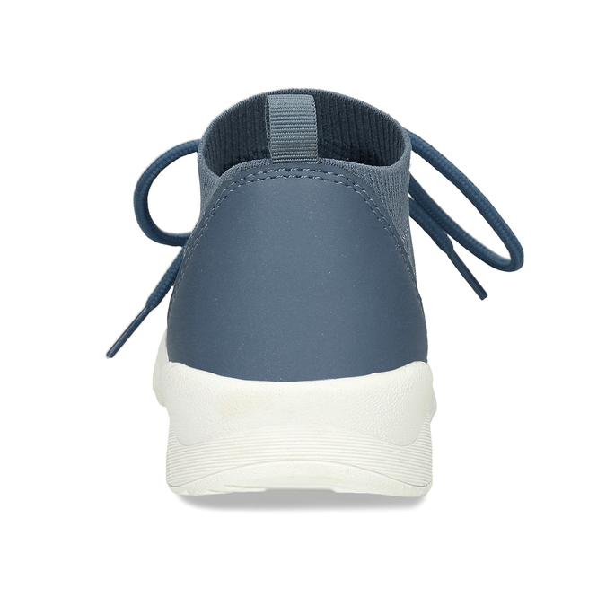 Dámské modré textilní tenisky bata-light, modrá, 541-9612 - 15