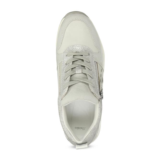 Dámské tenisky ve sportovním stylu bata, šedá, 541-1613 - 17