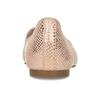 Metalické dámské Loafers mokasíny bata, růžová, 521-5620 - 15