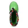 Dětské zelené holínky mini-b, zelená, 192-7610 - 17