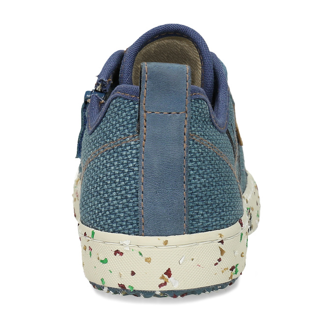 Modré dětské tenisky s potiskem geox, modrá, 319-9713 - 15