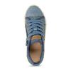 Modré dětské tenisky s potiskem geox, modrá, 319-9713 - 17