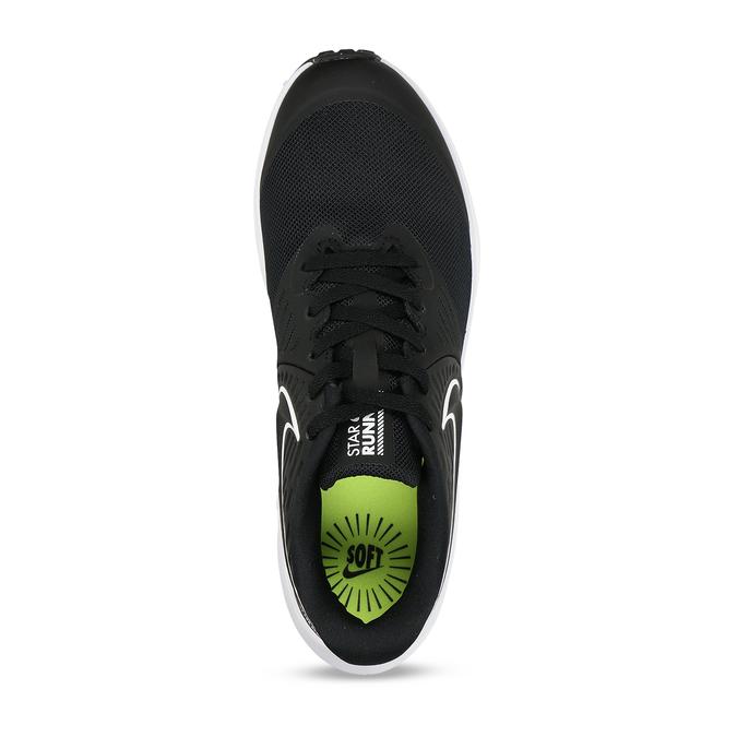Černé chlapecké sportovní tenisky nike, černá, 401-6301 - 17