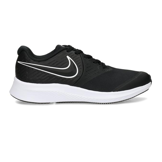 Černé chlapecké sportovní tenisky nike, černá, 401-6301 - 19
