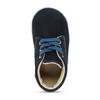 Modrá kožená dětská kotníková obuv bubblegummers, modrá, 116-9602 - 17