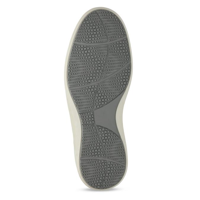 Šedé pánské kožené ležérní tenisky weinbrenner, šedá, 843-9636 - 18