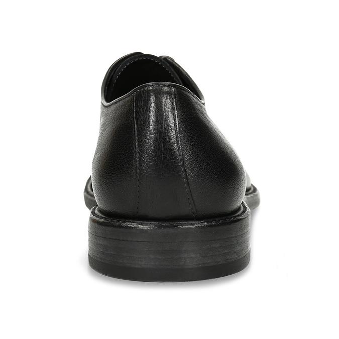 Černé celokožené pánské polobotky corvari, černá, 826-6510 - 15