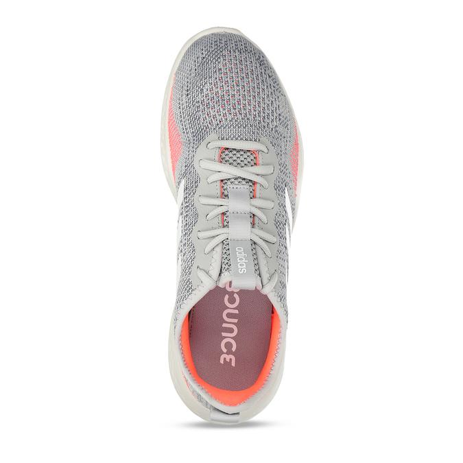 Běžecké pánské tenisky šedé adidas, šedá, 809-2911 - 17